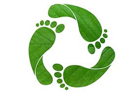 recycle carbon footprint